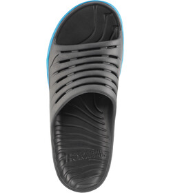 Hoka One One Ora Recovery Slide 2 Chaussures Homme, ebony/dresden blue